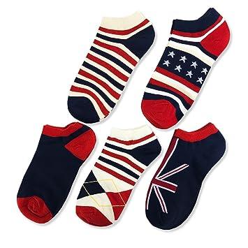 BUZZxSELECTION(バズ セレクション) 靴下 ショート ソックス くるぶし 5足 まとめ セット おしゃれ かわいい メンズ