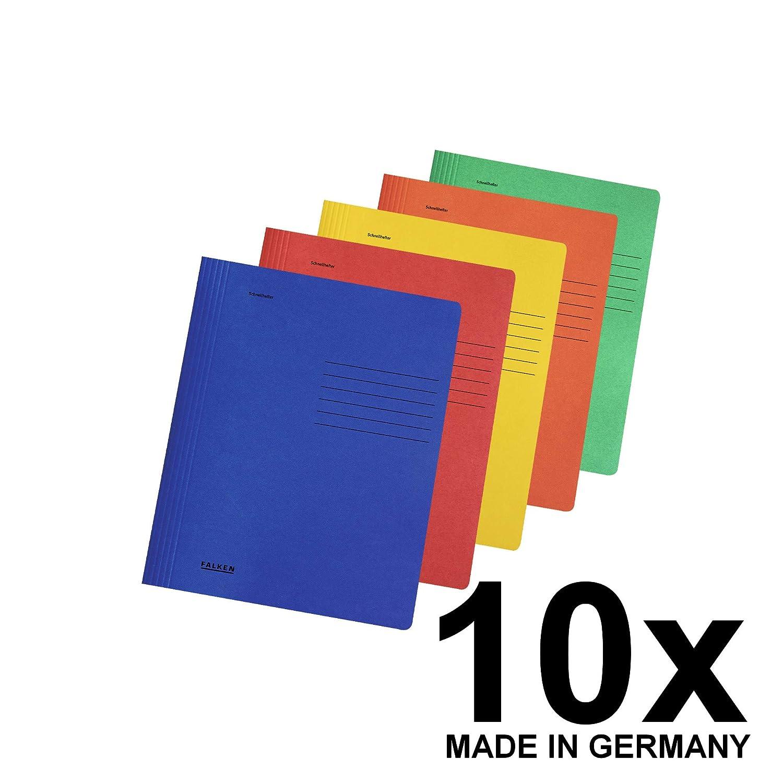 10 Schnellhefter herlitz Karton kaufmännische Heftung Mappen Mappe Hefter DIN A4