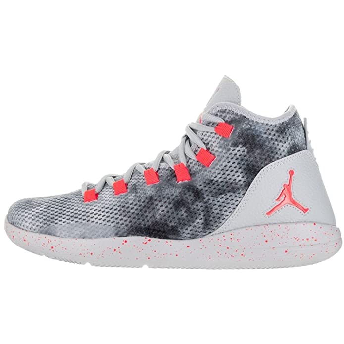 2a65d5ec1a443 NIKE 834229-015 Men's Jordan Reveal Premium Basketball Shoes, Wolf  Grey/Black Infrared 23, 8.5 D(M) US