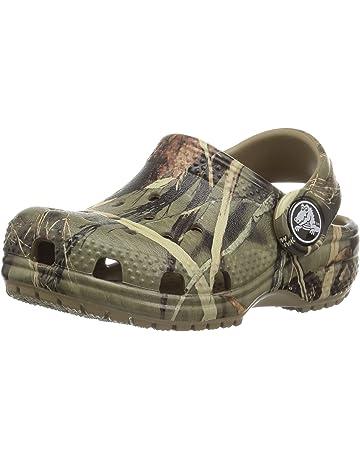 Crocs Boys Realtree Khaki Rubber loafers-shoes