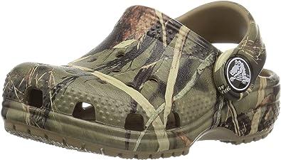Crocs Kid's Classic Realtree Clog | Camo Shoes