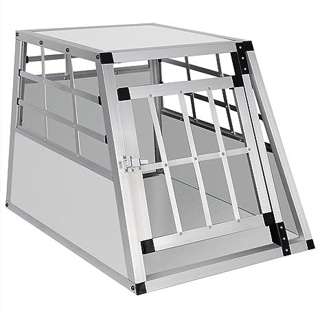 EUGAD Transportín de Aluminio para Perros Gatos Mascotas Jaula ...