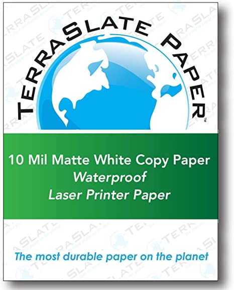 Amazon.com: TerraSlate Paper 10 MIL 8.5