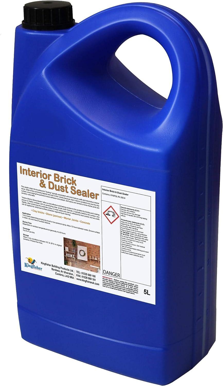Interior Brick And Dust Sealer 5 Litre Amazon Co Uk Diy Tools