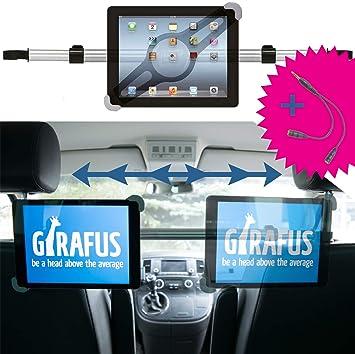 febd91358 Girafus Relax H3 Universale Tablet Auto Kfz-Kopfstützen-Halterung für  Rücksitz für 9-