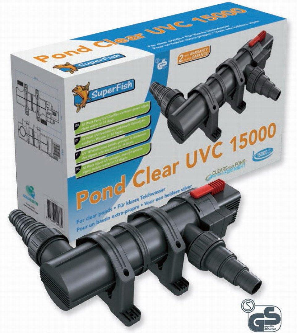 Pond clear UVC 15000 18W