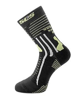 SLS3 Calcetines Deportivos con Protector de Dedos y Almohadillas de Tobillo: Amazon.es: Deportes y aire libre