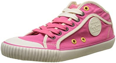 Pepe Jeans London Industry Basic 17, Sneakers Basses Femme, (Disco Pink), 41 EU