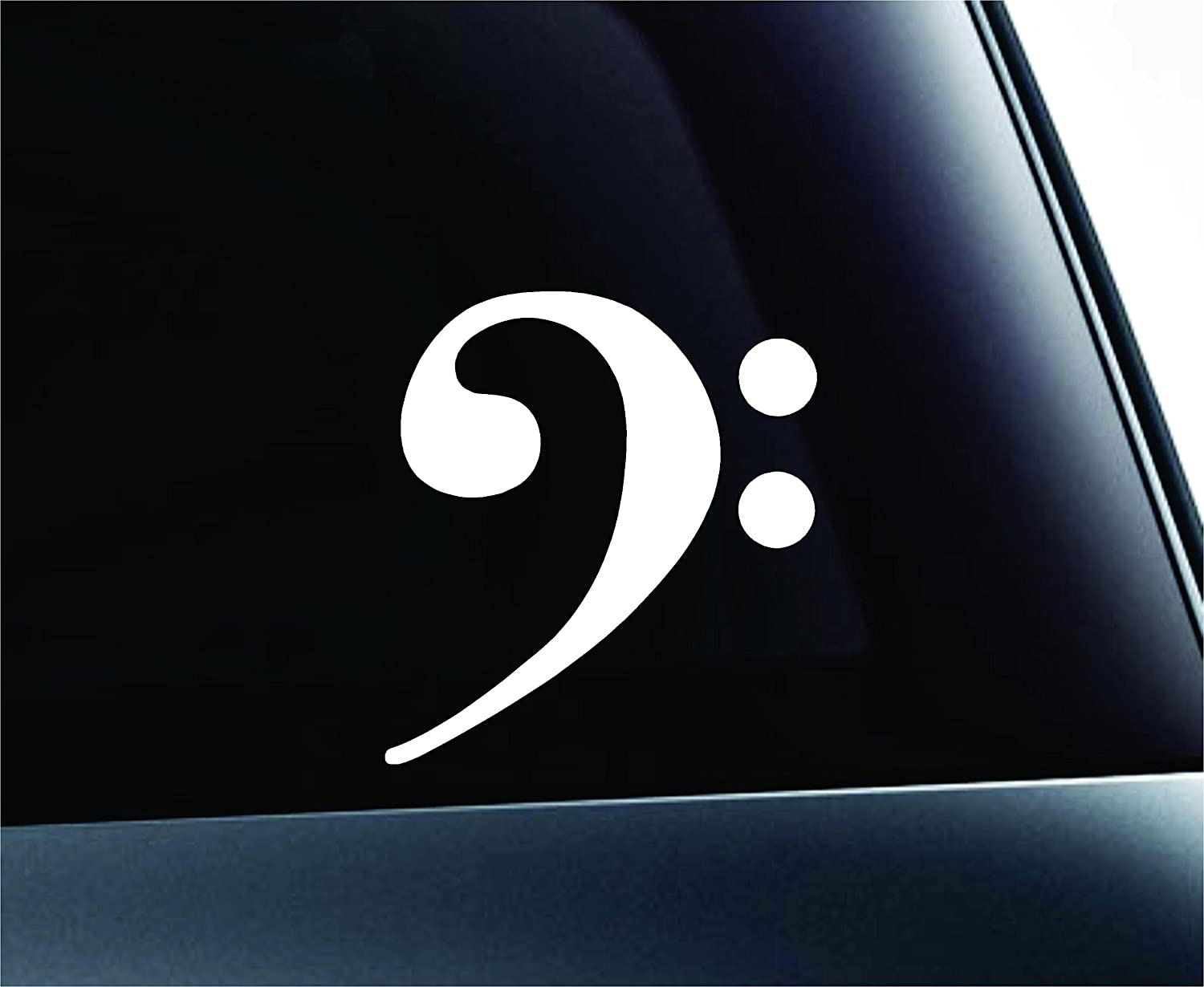 Amazon bass clef f musical note symbol decal funny car truck amazon bass clef f musical note symbol decal funny car truck sticker window white automotive buycottarizona Image collections