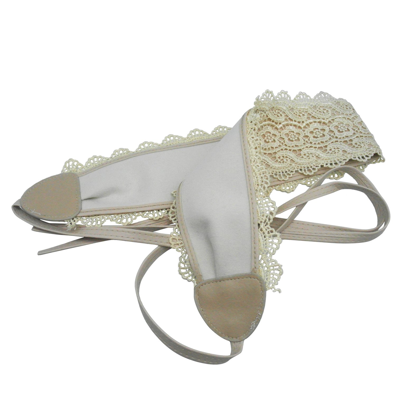 Womens Lace Soft PU Faux Leather Wrap Around Self Bow Tie Boho Waist Band For
