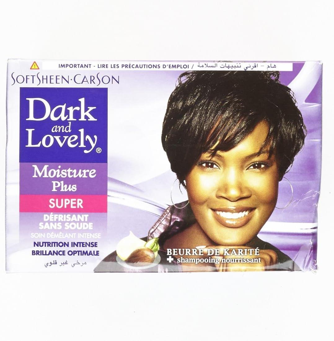 Dark & Lovely - Kit de alisado Super