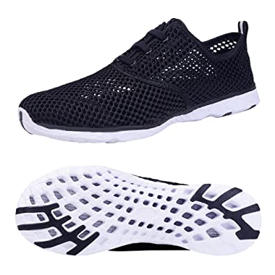 Women's Mesh Slip On Water Shoes Water Aqua Shoes Swimming Pool Beach Sports Quick Drying Shoes