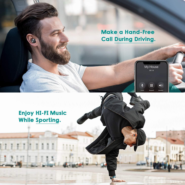 Amazon.com: Bluetooth Headphones V 5.0, Ownta Wireless ...