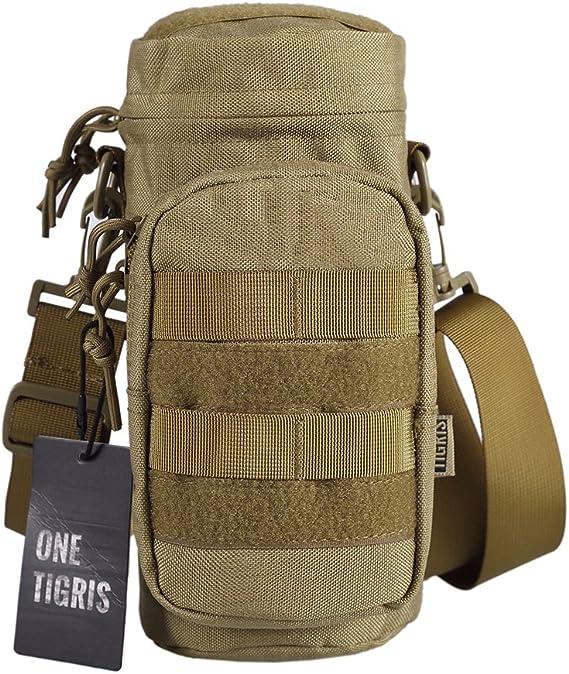 Flasche Tasche Halter Kampieren Zusatzgeräte Spiel Militär Reißverschluss
