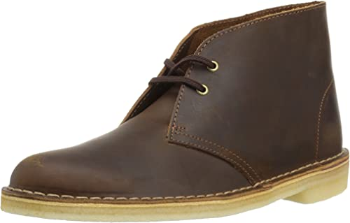 Beige CLARKS Ankle boots DESERT BOOT DAMES