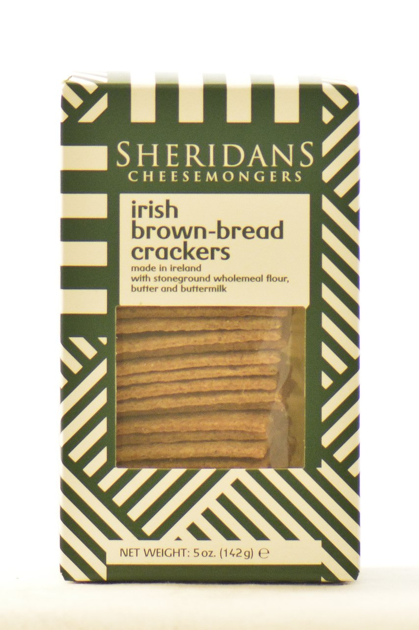 Sheridans Irish Brown Bread Crackers by Sheridans
