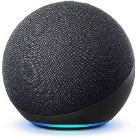 De nieuwe Echo (4e generatie) Internationale versie | Met premium sound, smart home hub en Alexa | Antraciet…