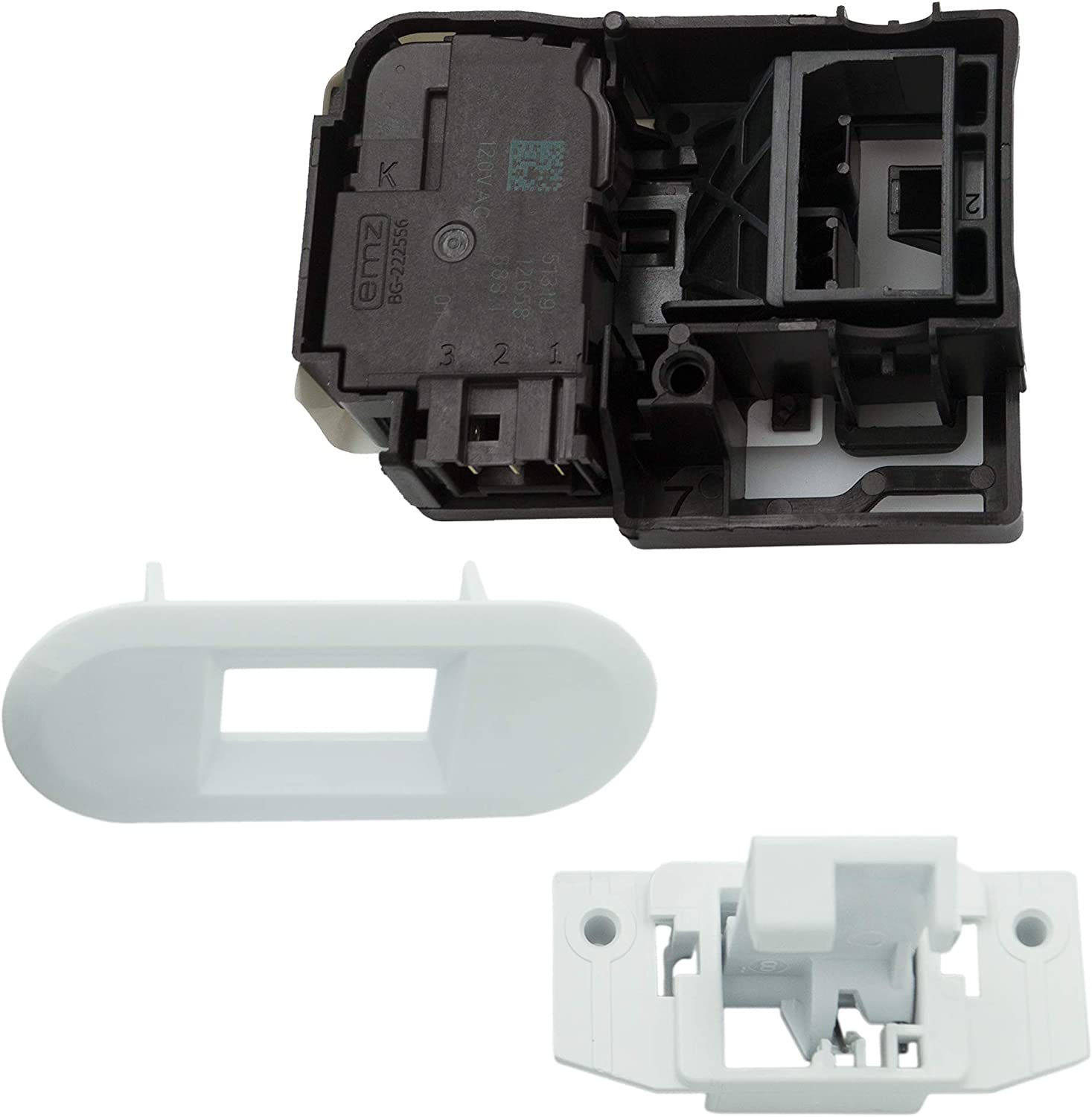 Supplying Demand WH01X27954 WH02X24399 WH01X24381 Washing Machine Lid Lock Repair Kit Compatible With GE