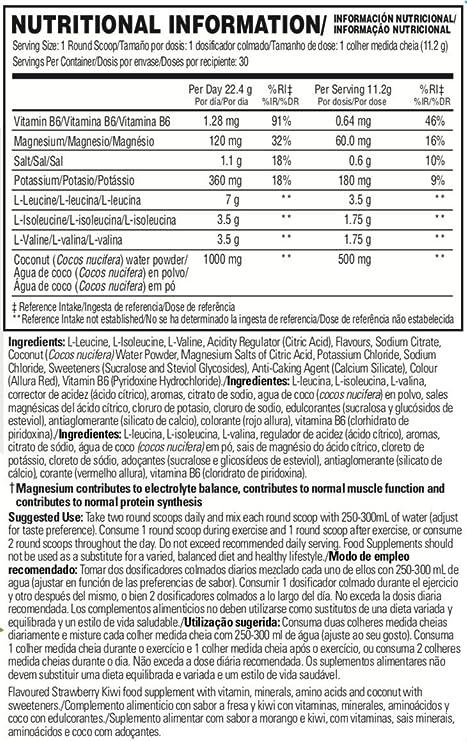 Scivation - Xtend Hydrasport - Bebida de electrolitos con BCAA en ...