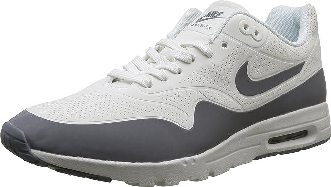 adyacente Escritor Montón de  Amazon.com | Nike Women's Air Max 1 Ultra Moire Summit White/Cl Grey/Mtllc  Slver/Wht Running Shoe 7.5 Women US | Road Running