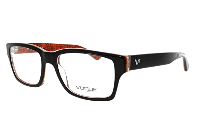 73881af745374 Vogue Gafas VO 2806 2103 Talla 52 en el color Dark Havana Havana, Interior  Rojo Oscuro Con Gráficos  Amazon.es  Ropa y accesorios