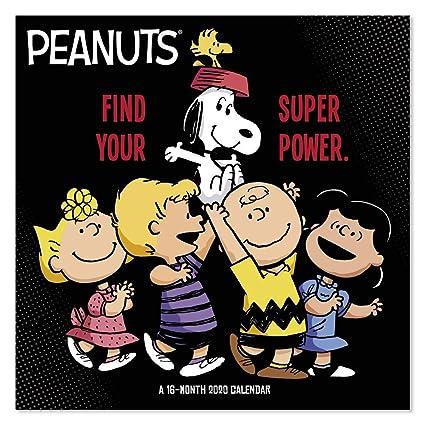Calendario Snoopy 2020.Calendario De Pared 2020 Peanuts Ddw0482820 Amazon Com Mx