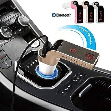FidgetFidget - Transmisor FM G7 Bluetooth para Coche, Reproductor ...