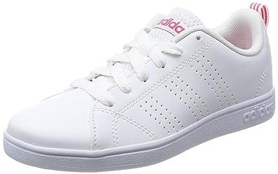 adidas Vs Advantage Cl K, Zapatillas de Deporte Unisex Niños, Blanco (Ftwbla/Ftwbla/Supros), 36 2/3 EU: Amazon.es: Zapatos y complementos