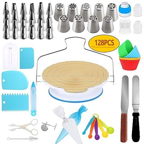 Amazon.com: Kit de suministros para decoración de tartas ...