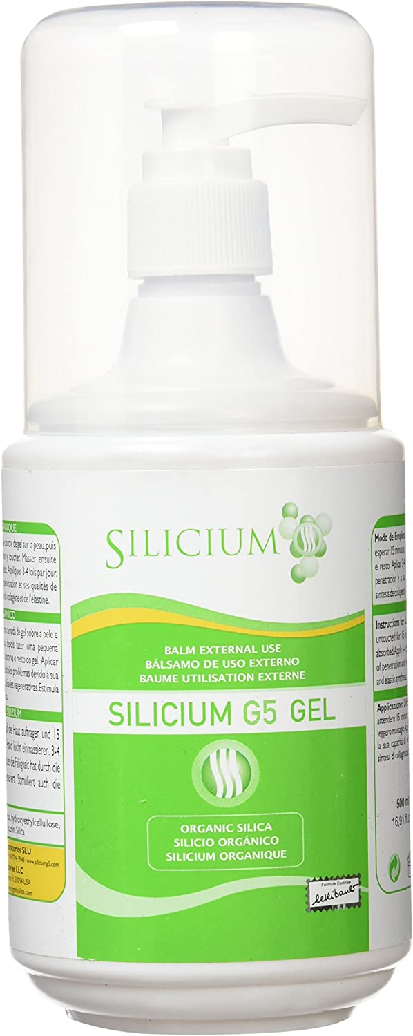 Silicium Multivitaminas y minerales - 500 ml: Amazon.es: Salud y ...