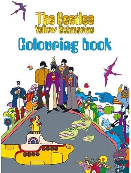 Amazon.com: The Beatles - Yellow Submarine Colouring Book: Sports & Outdoors