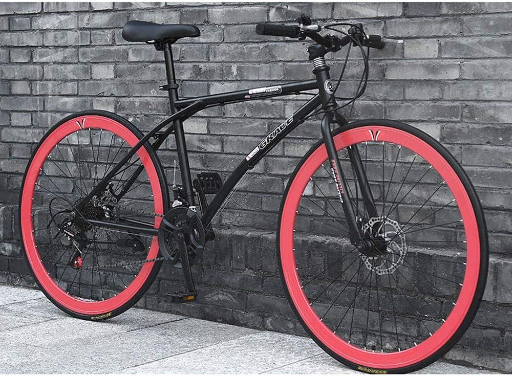 YXWJ 2020 Nueva bici de la suciedad bicicleta de montaña Bicicleta de ejercicio 24/26 pulgadas 24 velocidad Marco bicicleta de carretera for hombre de la bici de la bici con las niñas de aluminio Velo