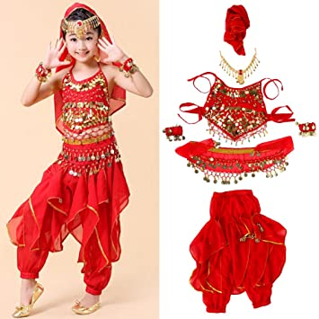 dancer costume ruby belly Deluxe