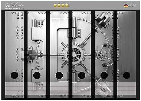 Archivadores pegatinas caja fuerte puerta de alta calidad - tamaño 36 x 30 cm, compatible