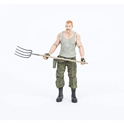McFarlane Toys The Walking Dead Comic Series 4 Abraham Ford Action Figure: Toys & Games