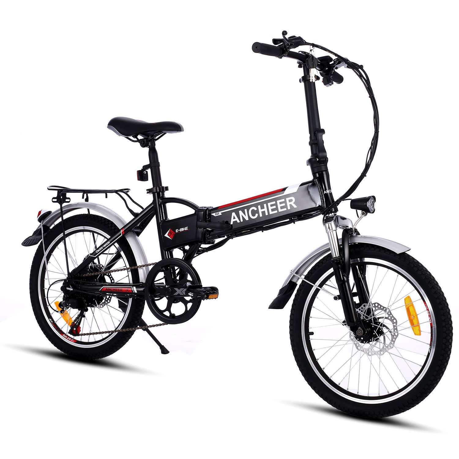 black ancheer electric bike