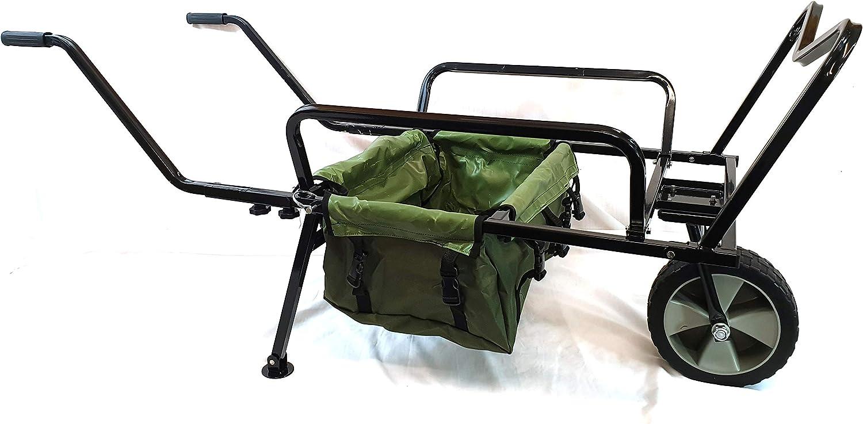 Bison Heavy Duty One Wheel Fishing Barrow