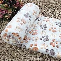 Topker Doux tiède couverture de polaire pour animaux de compagnie mat pad housse coussin pour chien chat chiot animal