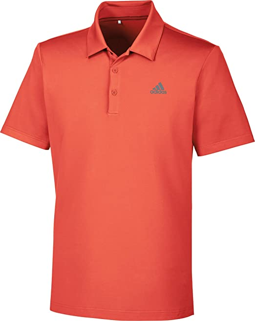 adidas Ultimate 365 Solid Polo de Golf, Hombre, Rojo, XS: Amazon ...