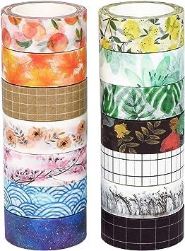 bullet journal pink washi tape peal back washi tape mixed media metallic washi tape Washi tape planner stationery