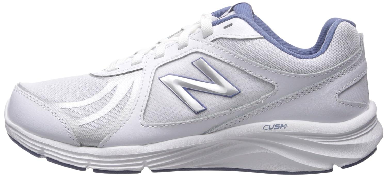 New Balance Women's WW496V3 Walking Shoe-W CUSH + Walking Shoe B012GZZE6Q 9 B(M) US|White/Blue