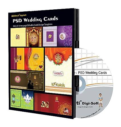 Abhikruti Wedding Design Templates In Psd 1 Pc Dvd Amazon