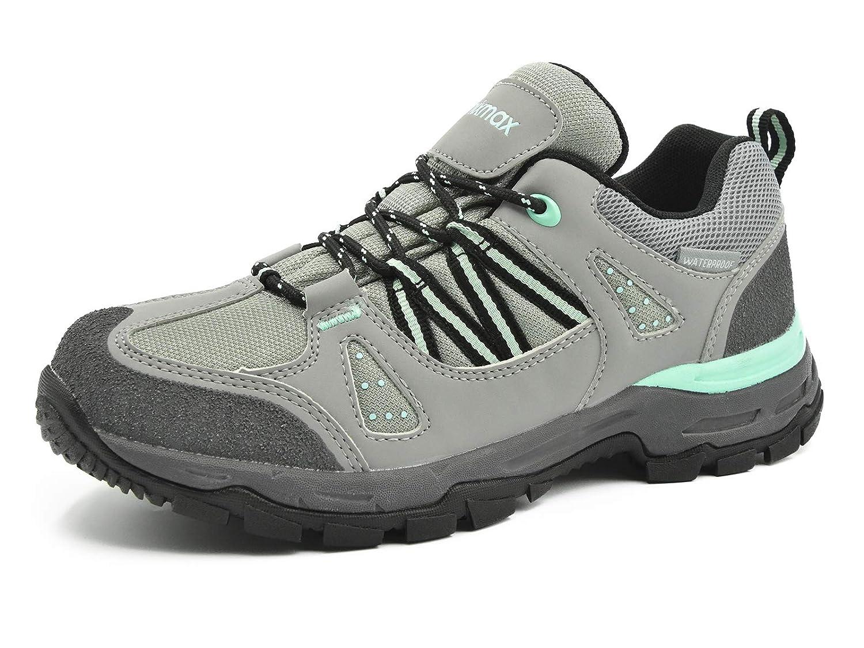 Knixmax-Zapatillas de Senderismo para Mujer, Zapatillas de Montañ a Deportivo Calzado de Trekking Escalada Outdoor Zapatillas de Senderismo Impermeable Antideslizante Zapatillas de Trekking Mujer