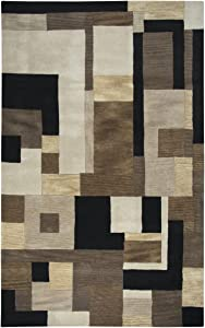 Rizzy Home Craft Hand-Tufted Area Rug 3 Ft. X 5 Ft. Multicolored