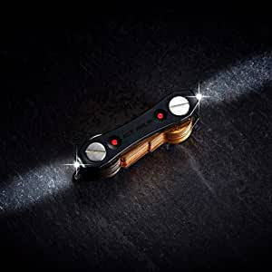 Nuevo Llavero Llavero Ninja compacto inteligente con luces LED Abridor de botellas