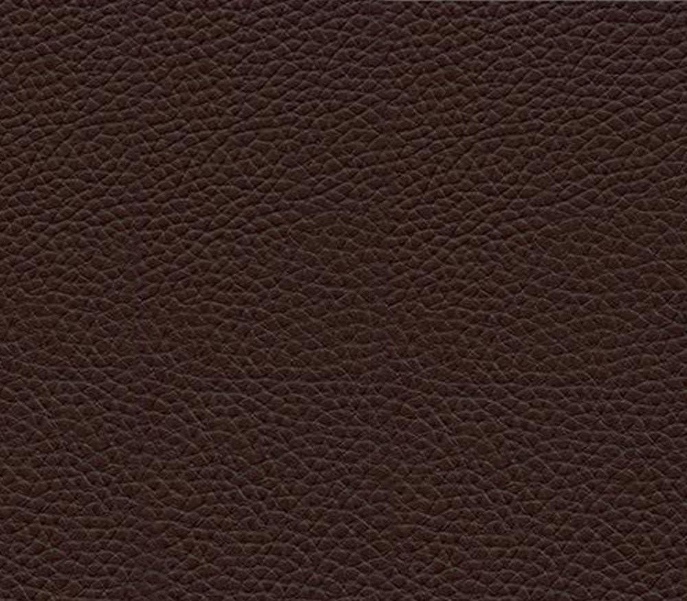 Vinyl Fabric Champion Dark Brown Fake Leather Upholstery / 54