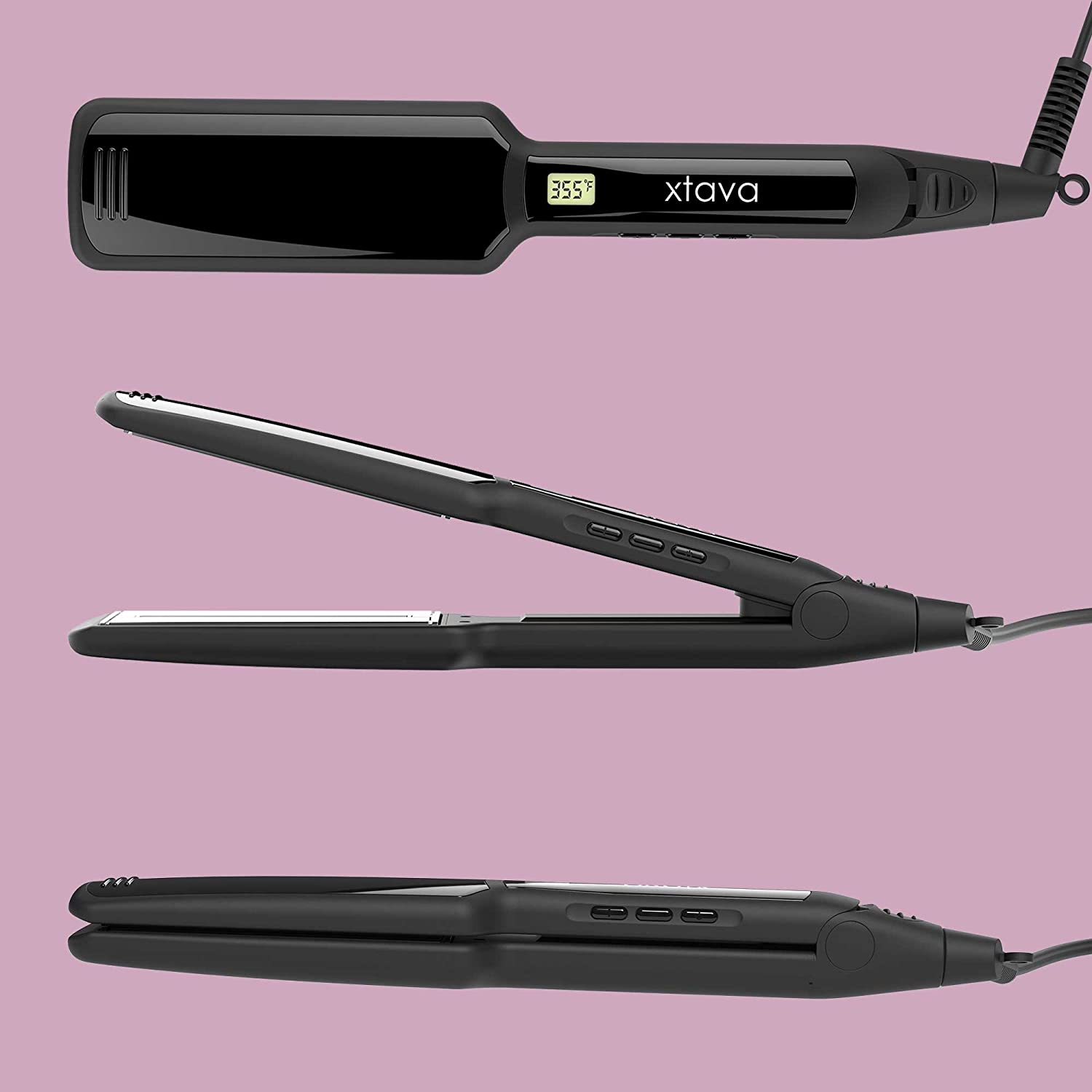 Xtava Hair Straightener for thick curly hair