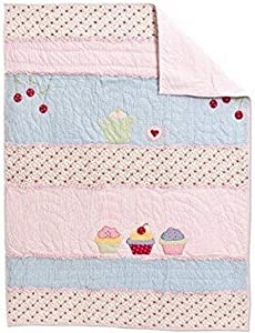 Amity Home Cup Cakes Baby Quilt