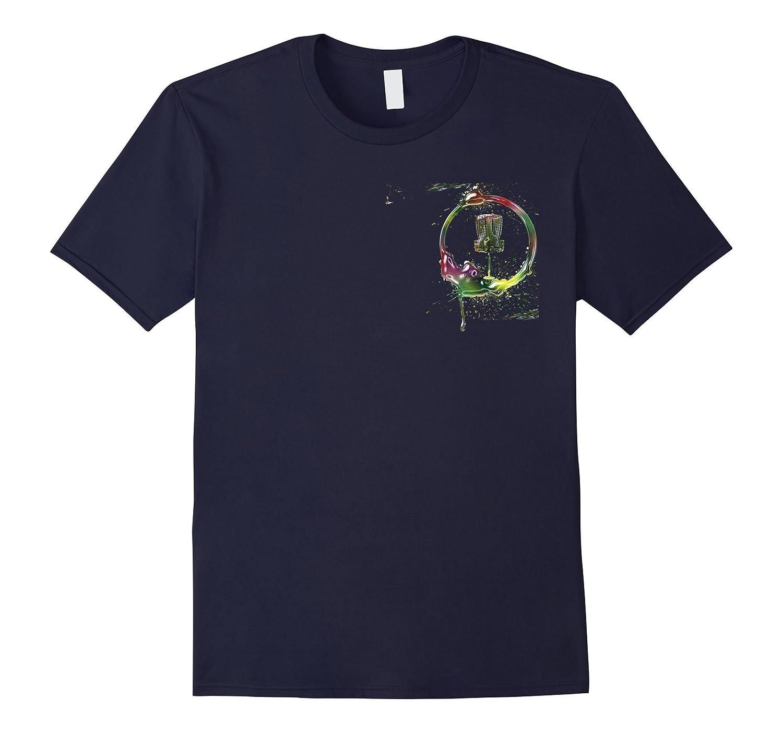 Disc Golf Storm Disc Golf Pocket Logo T-Shirt
