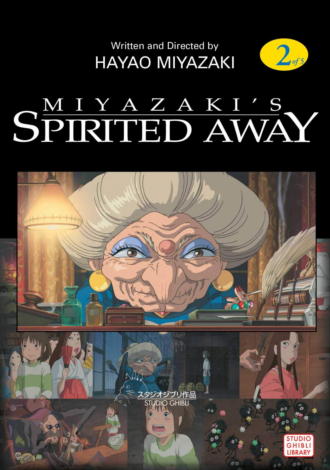 Spirited Away Vol 2 Spirited Away Film Comics Miyazaki Hayao Miyazaki Hayao 9781569317921 Amazon Com Books